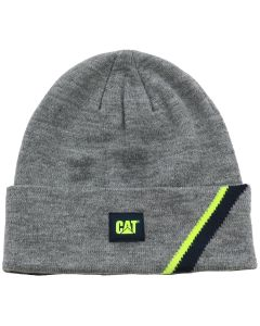 Cat® Beanie Power Shift grau