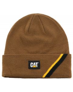 Cat® Beanie Power Shift braun