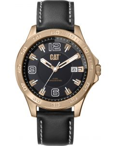 Cat® Armbanduhr Boston Date Black / Grey / Rose Gold