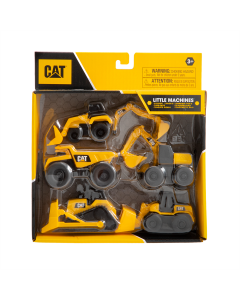 Cat® Baumaschinen 5er-Set