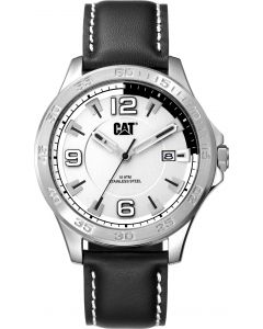 Cat® Armbanduhr Boston Date silver / black